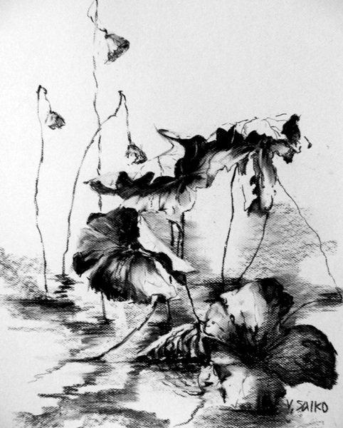 Elegance of Lotus Leaves 1