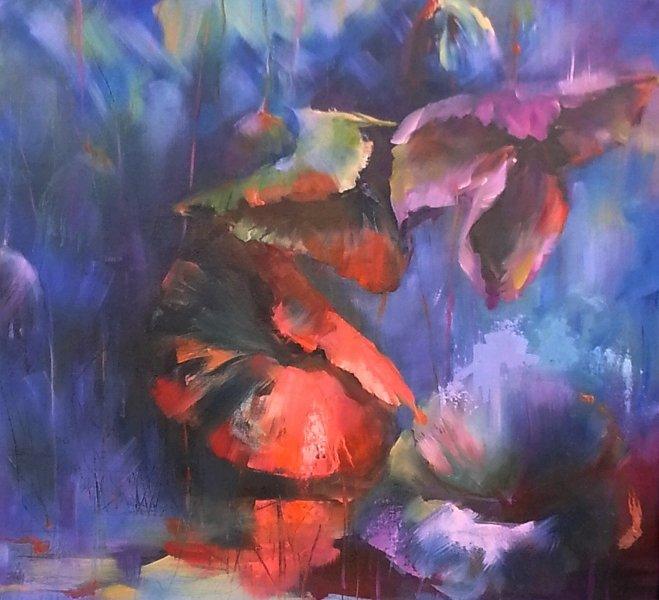 Midnight, 36 x 24 inch, oil on canvas